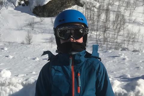 STO I TREKKET: Alexander Laksfoss (12) havnet midt i dramatikken i skitrekket.
