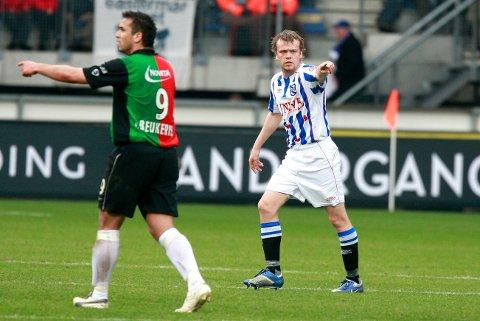 «SEHR GUT»: Christian Grindheim fikk 58 kamper i Heerenveen-drakten, ifølge sin egen Wikipedia-side. Siden har han vært innom FC København, Vålerenga - og nå FKH.