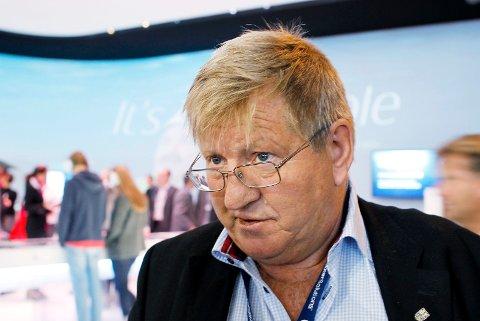 Hans Christen Rønnevik blir Ridder 1. klasse av St. Olavs Orden. Her under Olje- og gassmesse i Stavanger i 2014.