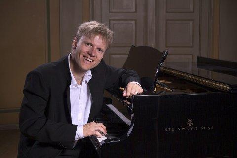 Konsert: Håvard Gimse holder konsert i Mosjøen kulturhus i kveld torsdag. foto: john andersen