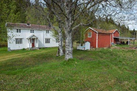 Det gamle småbruket på Kvalfors utenfor Mosjøen tiltrakk seg mange interesserte kjøpere.