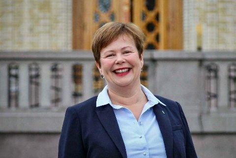 Vil ha endring: Stortingsrepresentant Siv Mossleth løfter saken om våpenregister og ber om fortgang.