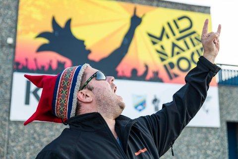 FRA ROCK TIL BOBIL: Jon Arne Pettersen mener han har gjort sin innsats i Midnattsrocken og blir bobilselger i Nordkjosbotn.