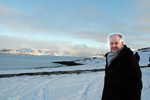 HALVERER KOSTNADER: Prosjektdirektør for Johan Castberg, Erik Strand Tellefsen. Her fotografert på Veidnes i Nordkapp.Foto: Svein g. jørstad