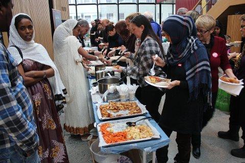 Internasjonal lunsj på Arktisk Kultursenter