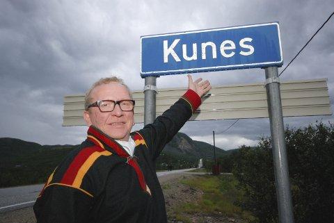 FÅR STØTTE: Kunesdagan får festivalstøtte. Her med Alf Edvard Masternes, lederen for Kunesdagan.