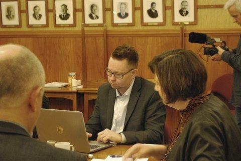MER TIL MUSEET: Rådmann i Nordkapp kommune, Raymond Robertsen, foreslår å bevilge ytterligere 700.000 kroner til Nordkappmuseet for å få en sluttføring og fullfinansiering av prosjektet om nytt museumsbygg.