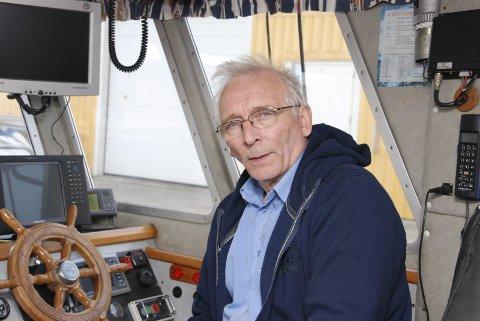SMÅPENGER: Leder Arne Pedersen i Norges Kystfiskarlag mener det er lagt opp til at trålerne får kjøpe seg fri for småpenger, mens mange vil miste jobben i kystsamfunnene.Foto: Finnmarken