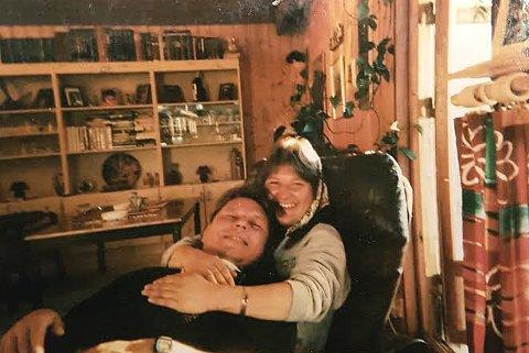 PRØVDE Å BERGE LIVET: Sandra Evensen og Kåre Johan Gerhardsen var kjærester i 20 år. Han kjempet desperat for å redde livet hennes da ambulansen ikke kom natt til onsdag 15. februar.