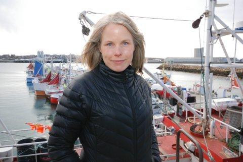 KOM MED FORSLAGET: Kirsti Bergstø (Sv)