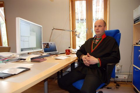 Direktør Rune Sverre Fjellheim, Sametinget. Foto: Oddgeir Isaksen