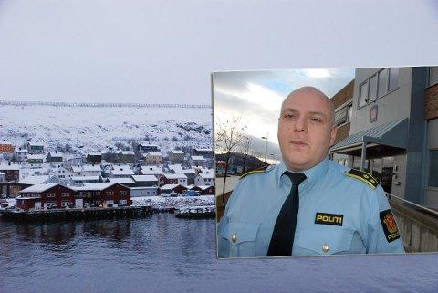 ØNSKER Å SNAKKE MED OFRE: Seksjonsleder for Felles etterforskning (Fefe) i Finnmark politidistrikt, Kenneth Nilsen, håper å få oversikt over ofre som ikke har avgitt forklaring i overgrepssaken i Kjøllefjord.