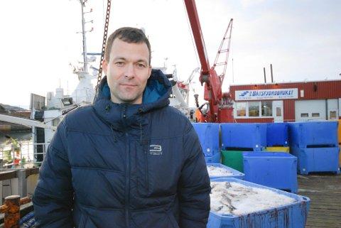 ENIG: Senterpartiet og Frank Kristiansen var enig med rådmannen og fikk flertall. Han mener Båtsfjord trenger næringsvirksomhet.