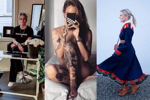 ALLSIDIG: Når hun ikke jobber i butikk, driver Stine Jessie Krogseng en selvbygd vippe-salong og oppdaterer sin Instagram-profil med 22.300 følgere.