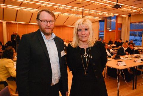 STOR MAKT: Leder Kari-Anne Opsal og nestleder Ulf Ballo (begge Ap) får utvilsomt stor makt i fellesnemnda. De skal også være leder og nestleder i arbeidsutvalget.