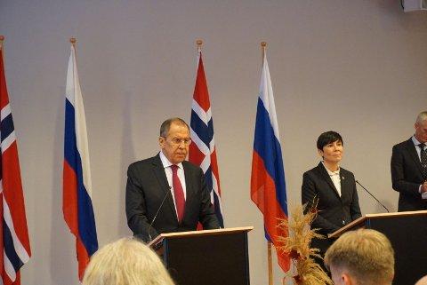 FÅR SVAR: Sergej Lavrov lovte at vi snart får svar på om Frode Berg kan komme tilbake til Norge.