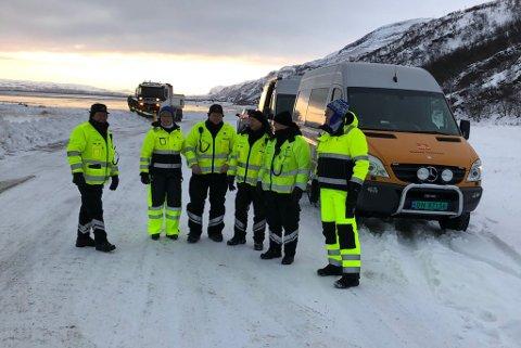 SJEKKET BILISTER: Kontrollørene i Statens vegvesen og Arbeidstilsynet avdekket mange brudd på lovgivningen.