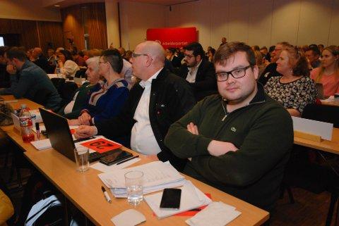 VENTET SPENT: Tarjei Jensen Bech fra Hammerfest ventet spent på utfallet av nominasjonen.