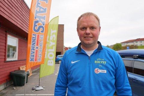 STOLT: Roger Finjord er stolt over det Finnmark fotballkrets og deres samarbeidspartnere har fått til under bolystukene hittil.