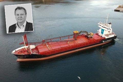 Jan A. Paulsen, administrerende direktør i Seaworks.