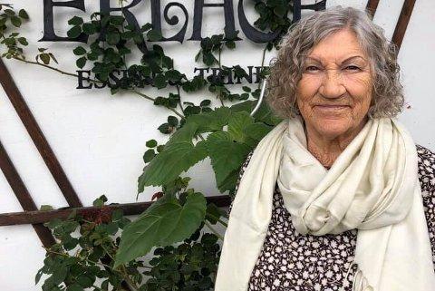 Fra Finnmark: Anne Grethe Aarnes (82) var oppvokst i Finnmark på Sørøya, før hun først flyttet til Drammen, så videre til Østerrike.