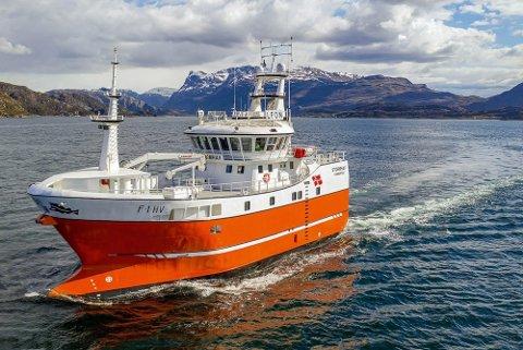 """FLERE UHELDIGE EPIOSODER: """"Stormhav"""" er en kombinert garn- og linebåt på 28 meter, men den siste tiden er det ikke fiske som har stått i fokus på linebåten."""