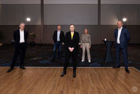 DEBATT: Det blir politisk debatt med Olje- og energiminister Tina Bru (H) som får selskap av partilederne Jonas Gahr Støre (Ap) og Trygve Slagsvold Vedum (Sp). Foto: Barentshavkonferansen