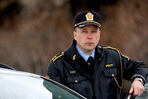 UP-sjef: Sjef for utrykningspolitiet i nord - Geir Marthinsen.