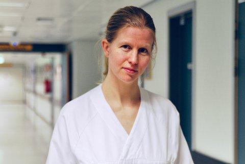 Maria Serafia Fjellstad sier at hun på egne vegne ikke har store ambisjoner i politikken. N