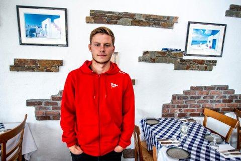 TIL LFK: Alexander Zoulakis lånes ut fra Fredrikstad til Levanger FK.