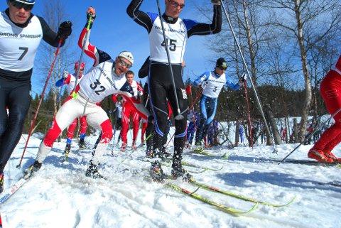TRIM: Ola Berget ga alt i Vårlonken i  2010, men i år blir det kun trimklasse i det populære rennet i Mosvik.
