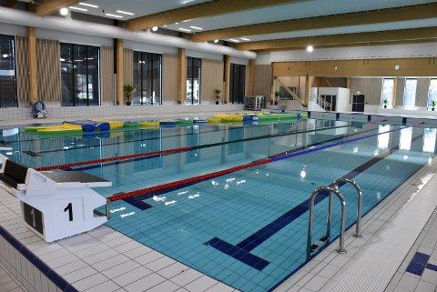 I det nye Bjørkebadet yrer det snart av liv. I uke 41 starter svømmegruppa i BSF opp med kurs. Foto: Trym Helbostad