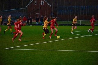 Ga alt: Setskog/Rømskogs damelag kjempet hardt, men tapte mot LSK.