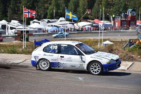 Rallycrossfører Thomas Tørnby er i ferd med å gjøre sin beste sesong på lang tid. Rømsjingen satser på en ny, god plassering i supernasjonal klasse 4.