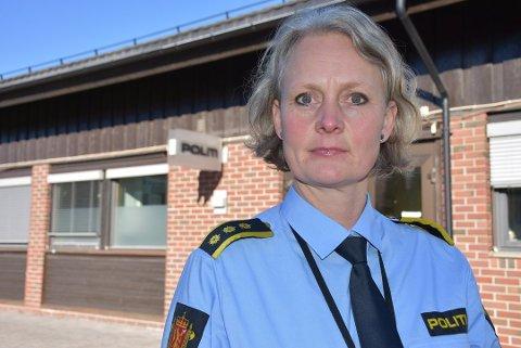 Lensmann Hilde H. Straumann i Aurskog-Høland lensmannsdistrikt.