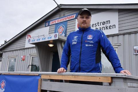 – Vi er nødt til å få en større bredde i stallen neste sesong, sier Daniel Westvang som har signert ny ettårskontrakt med Lørenskog IF. Foto: Trym Helbostad