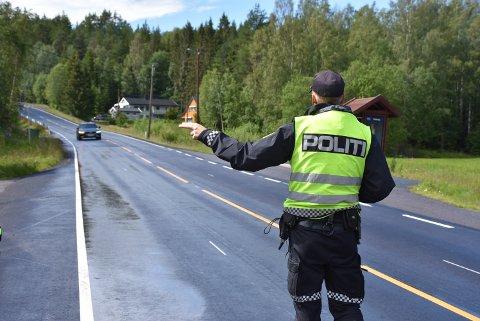 15 har mistet førerkortet etter fartskontroller i Setskog i løpet av 2019. Arkivfoto: Trym Helbostad