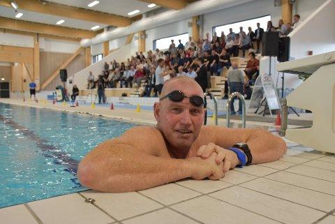Stort løft: Bjørkebadet har gitt svømmegruppa i BSF et stort løft. Det er leder Finn Herlofsen glad for. Foto: Trym Helbostad