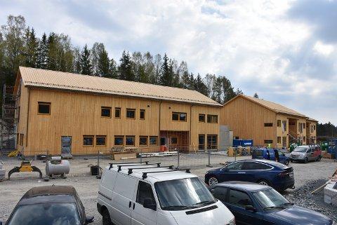 13. mai blir det mulig å ta en nærmere titt på Myrvang-boligene på Bjørkelangen. Foto: Trym Helbostad