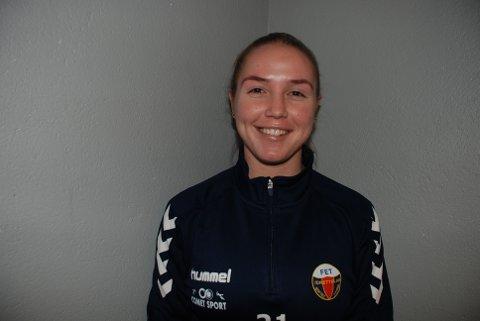Martine Lie scoret to mål da Fet slo Frogner 7-1 i serieåpningen i 4. divisjon. Foto: Jon Wiik