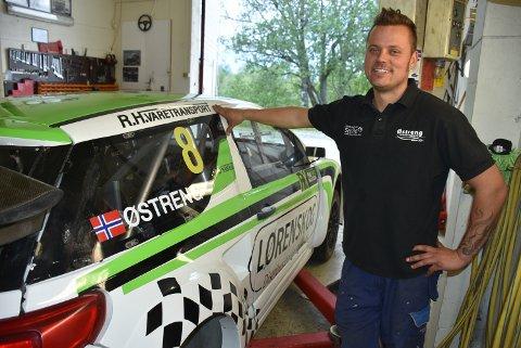 Hans-Jøran Østreng og hans team fikk oppleve sin første EM-runde, men motortrøbbel satte en stopper for videre deltagelse. Foto: Trym Helbostad