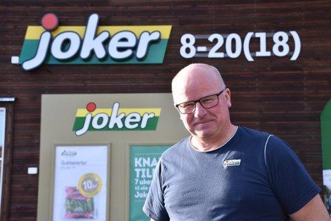 Søker: Kjøpmann og daglig leder ved Joker Rømskog, Dag Halvorsen. Foto: Trym Helbostad