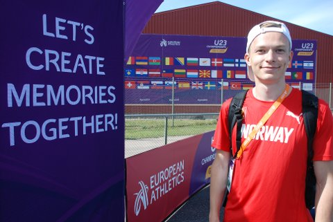 KOM TILBAKE: Etter at dette mesterskapet glapp for to år siden, håper Markus Einan at U23-EM i Gävle vil bli et godt minne. Foto: Jon Wiik.