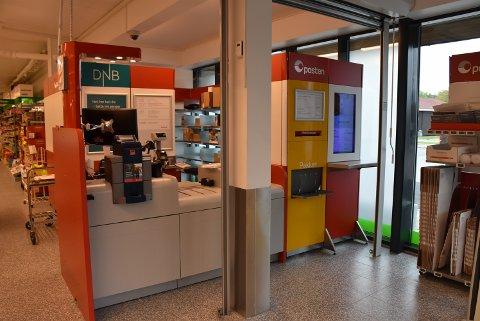 Post i butikk vil være et tilbud ved nyoppussede Kiwi Bjørkelangen fram til sommeren 2020. Foto: Trym Helbostad