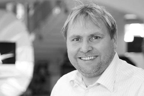 SELGER GULLNUMRE: Morten Nybrott fra Blaker har i mange år solgt såkalte gullnumre.