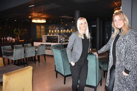 – Når vi sammenligner oss med andre i hotellbransjen, er vi faktisk godt stilt, sier Anne Brodin Söderström (t.h.) og May-Therese Halvorsen ved Rømskog Spa & Resort.