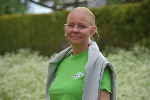 Maria Riiser er en av mange som jobber frivillig og hjelper andre i Aurskog-Høland.