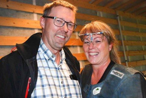 HUS OG HAGE: Kjersti Nyborg Teigen har deltatt på 28 landsskytterstevner. I år ble det mer tid til hus og hage med ektemannen Bjørn Vidar Teigen. Arkivfoto: Jon Wiik