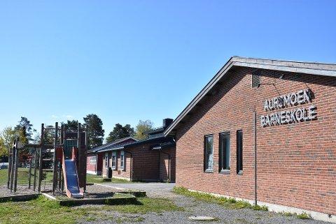 Kjent problem: Rektor Grazyna Saxegaard er kjent med at enkelte har fått løsnet sykkehjulet i Aurskog.