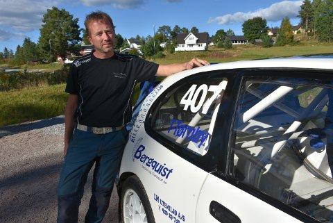 Thomas Tørnby fikk en elektronisk feil som gjorde at han ikke fikk kjørt et eneste heat under lørdagens NM-runde i rallycross.